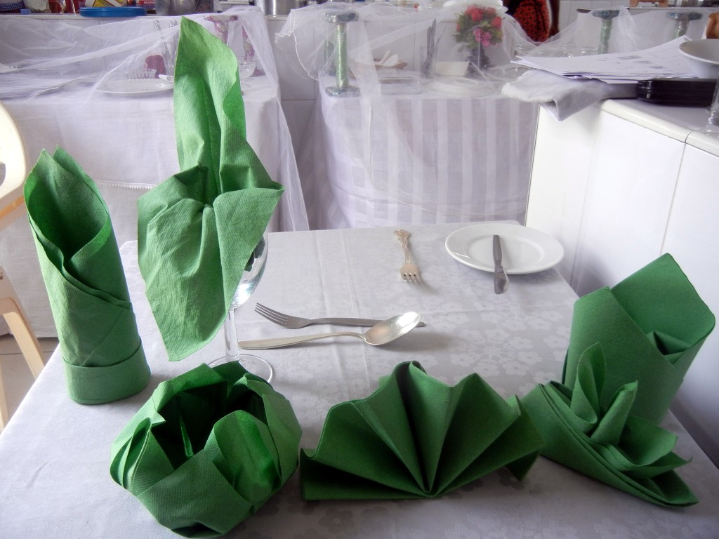 Dining Table Cloth Texture