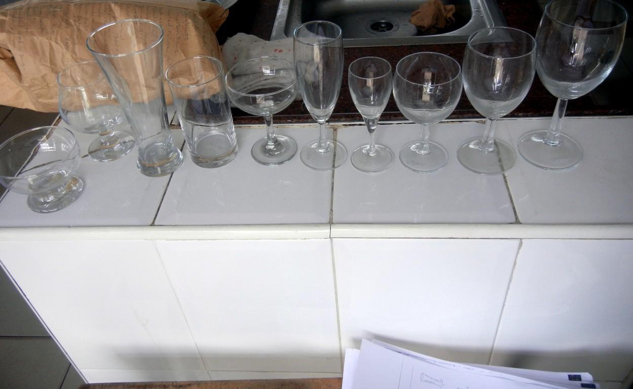 Etiquette Wine Glasses