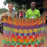 finished kente