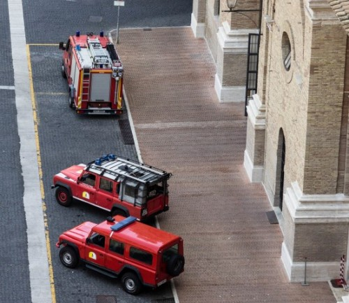 vatican city fire department