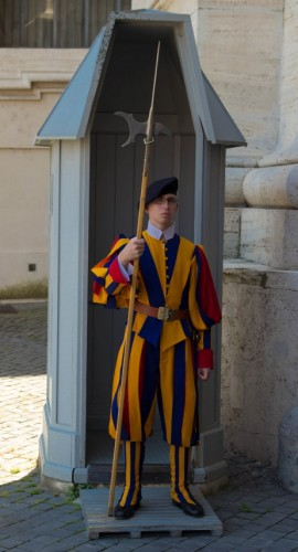 vatican city swiss guard