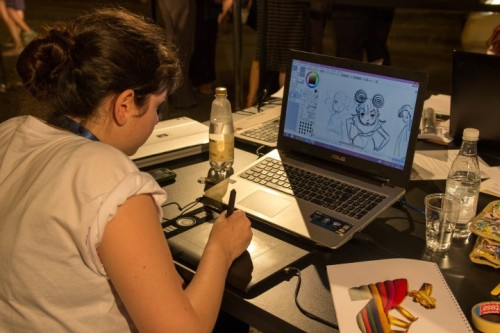 florence cartoon sketching competition