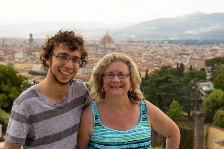 San Miniato Avery and Mama