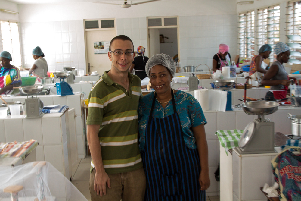 ghana flair cooking school teacher