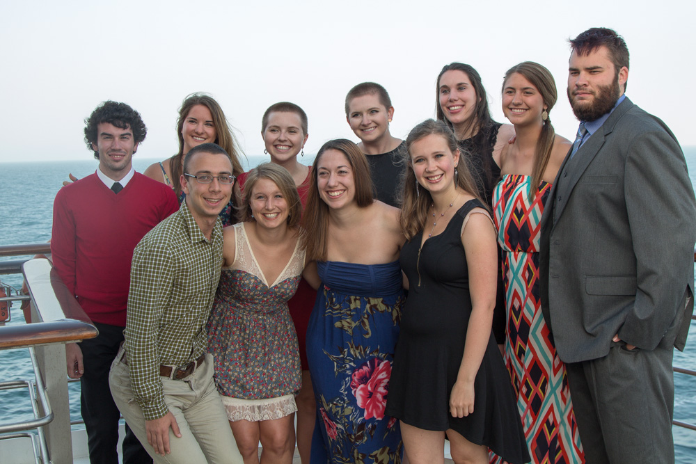 semester at sea fancy dinner photo