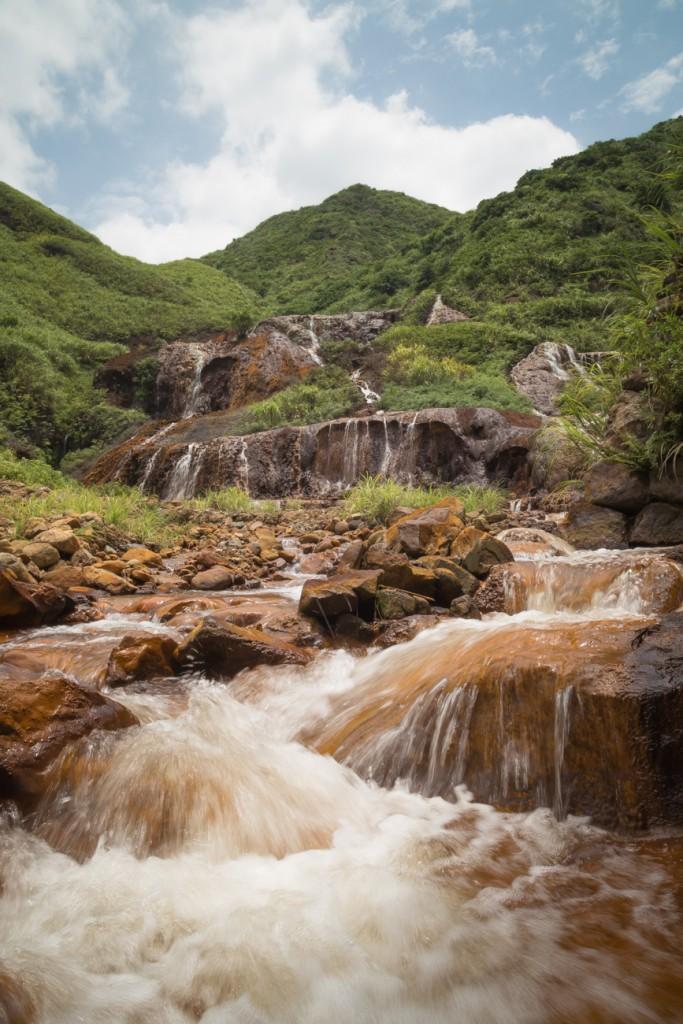 Jiufen Golden Waterfall 黃金瀑布