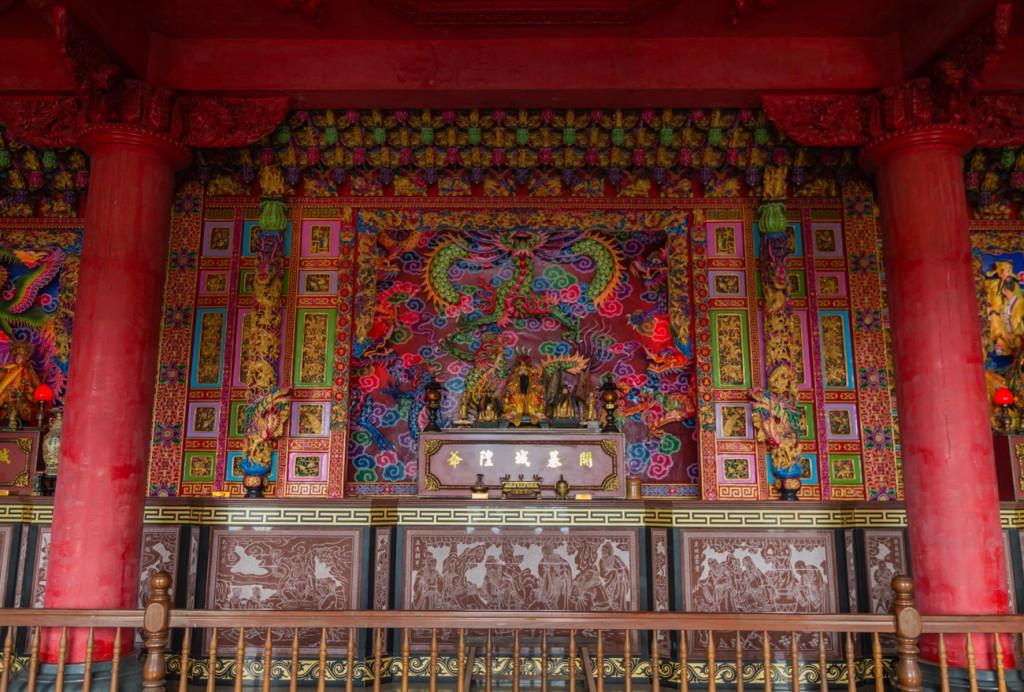 Jiufen Temple Alter