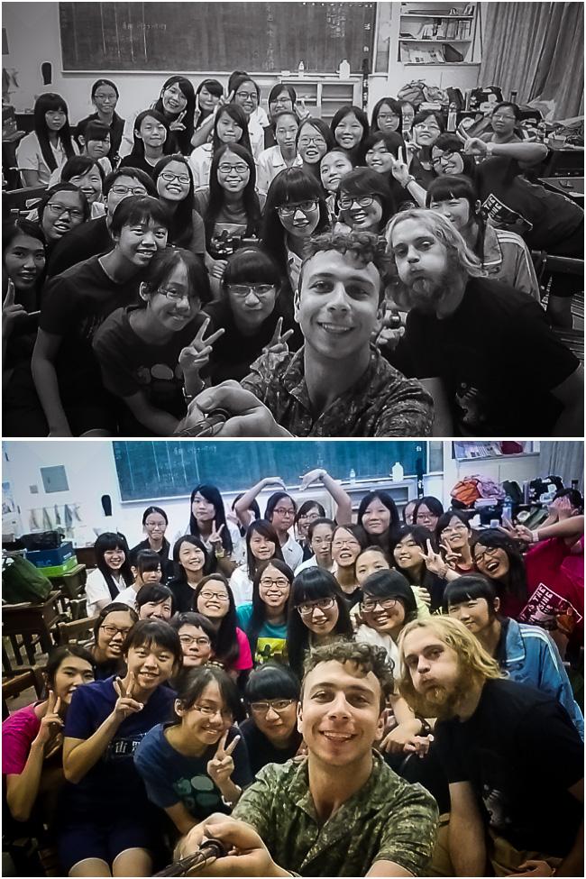 TNGS Class 216 Selfie