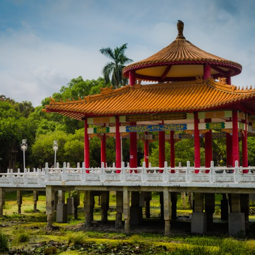 An Afternoon at Tainan Park