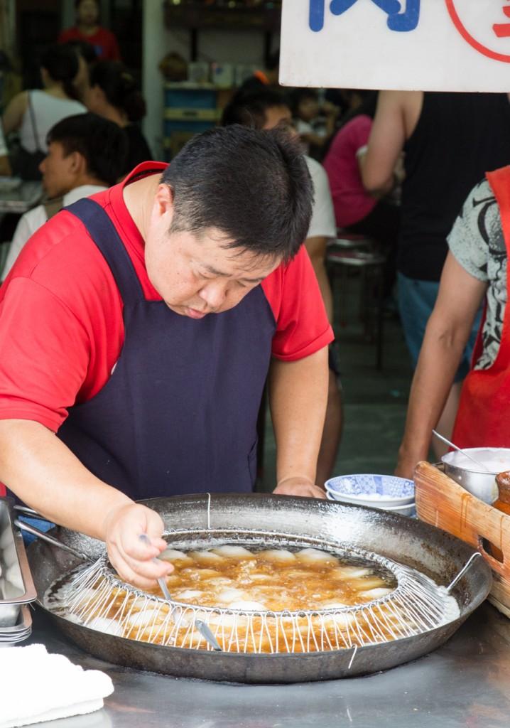 Taiwan Sun Moon Lake Street Food