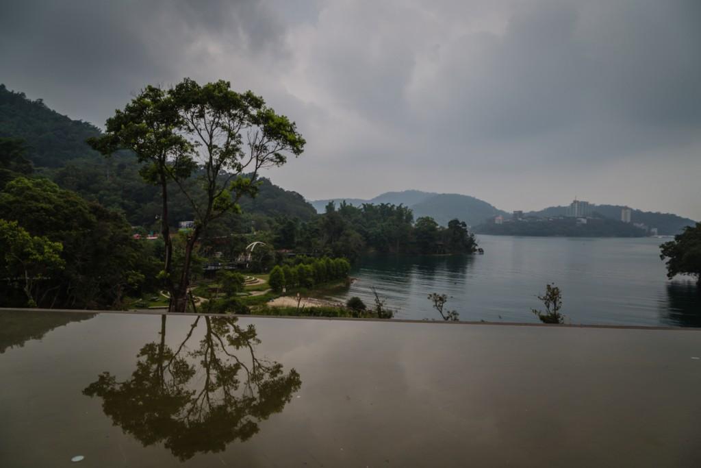 Taiwan Sun Moon Lake at Distance