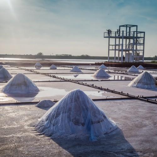 Jingzaijiao Sea Salt Field Photography 井仔腳瓦盤鹽田