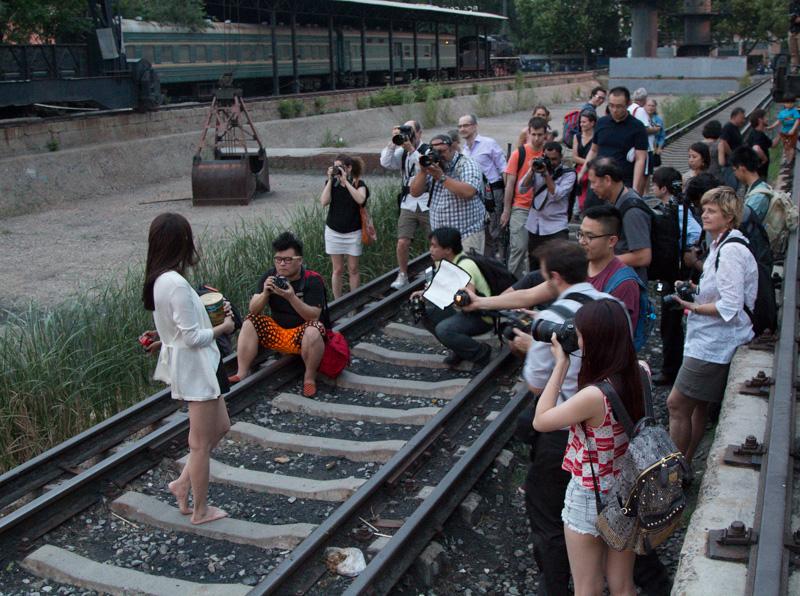 beijing photo walk train tracks