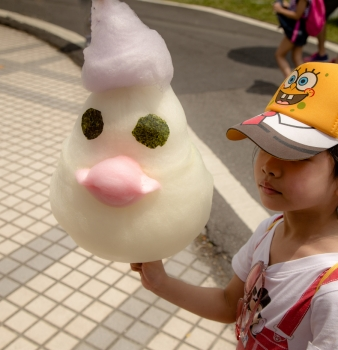 Dragonboat Festival: Chicken-Shaped Cotton Candy