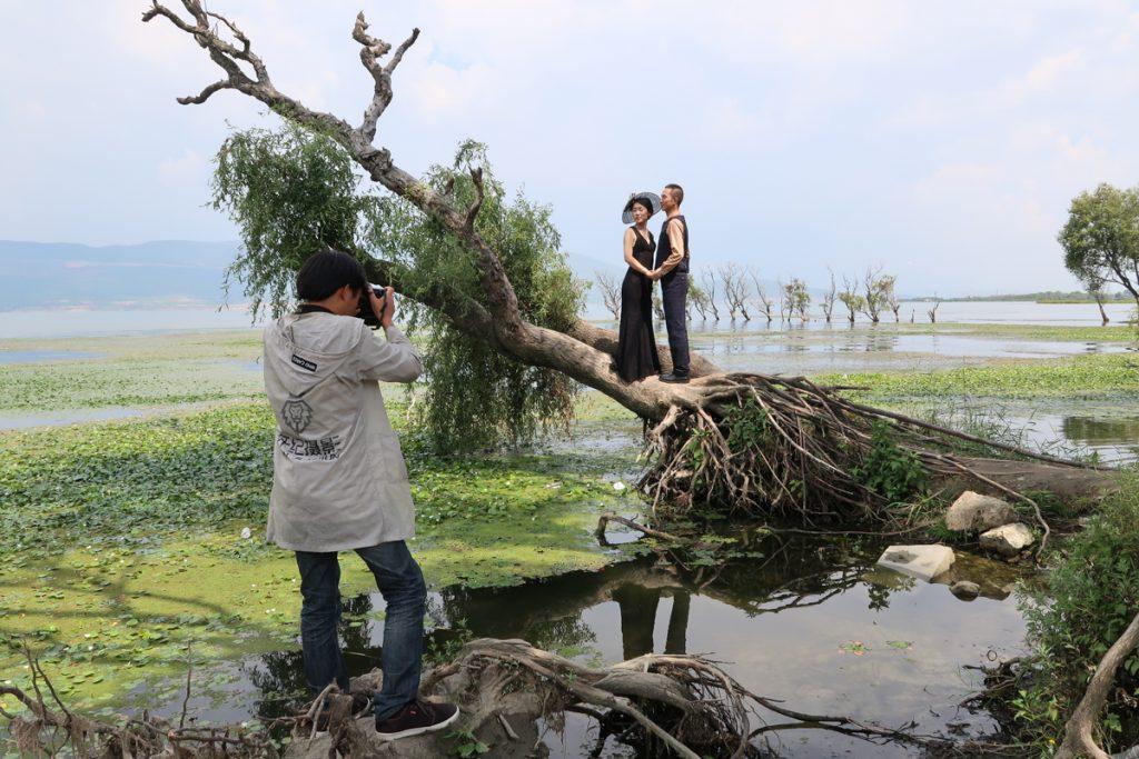 Dali Erhai Lake Wedding Photography