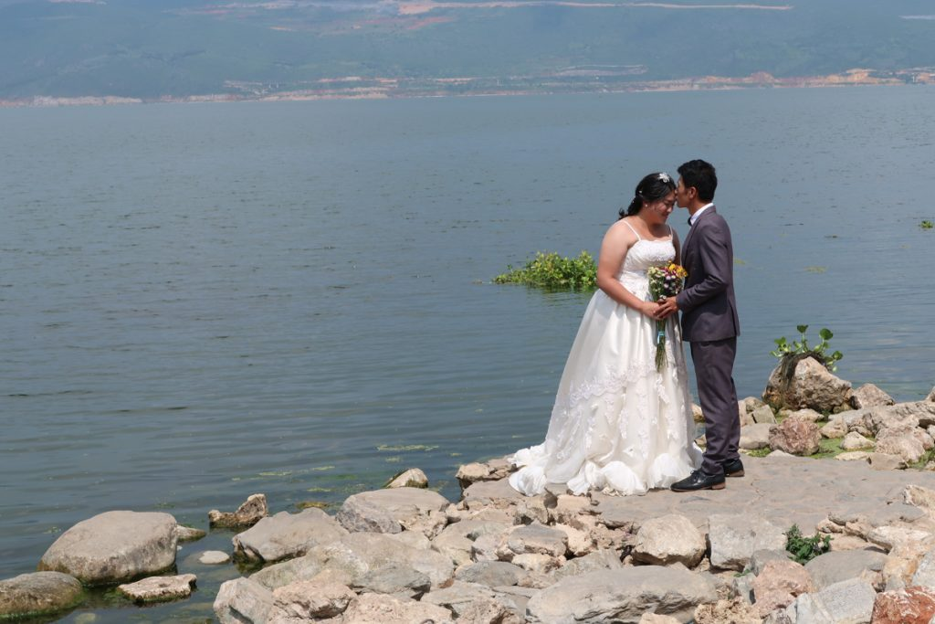 Dali Erhai Lake Wedding Shoot