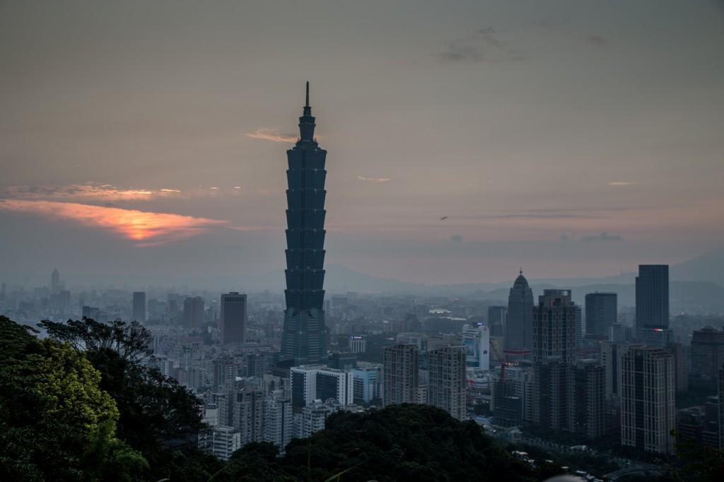 elephant mountain taipei 101 city view