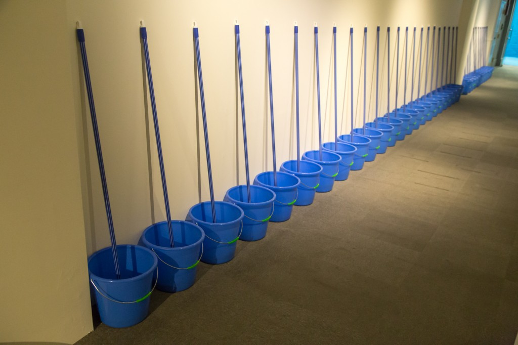 polit-sheer-form buckets and mop